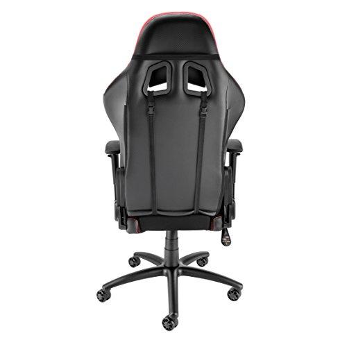 Brilliant Details About Open Box Spieltek Berserker Gaming Chair V2 Red Fabric W Lumbar Headrest Pillows Pdpeps Interior Chair Design Pdpepsorg