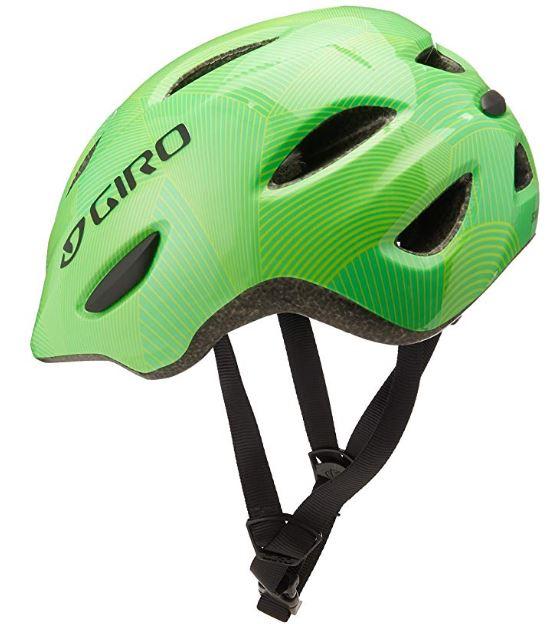 Giro Scamp Youth Bike Helmet with Built-in Visor Matte Black Free