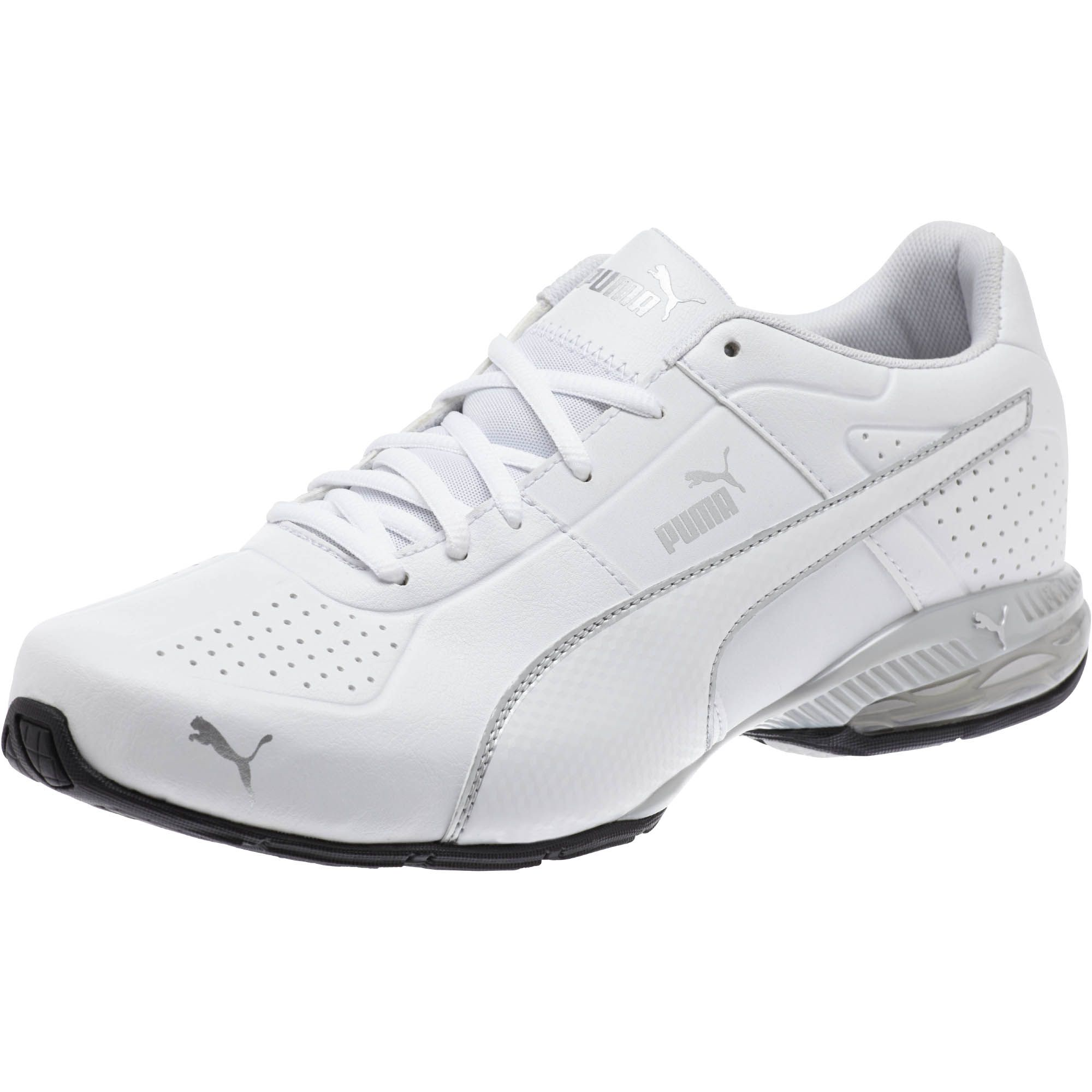 Details about PUMA Men s Cell Surin 2 Running Shoe White and Silver US Size  9 Free Shipping 9e20047d8