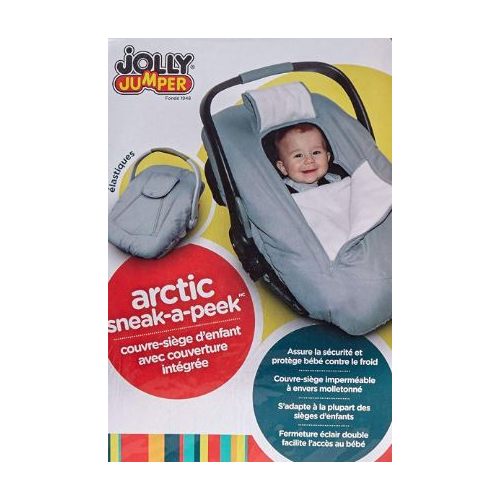 Magnificent Jolly Jumper Arctic Sneak A Peek Infant Carseat Cover With Uwap Interior Chair Design Uwaporg