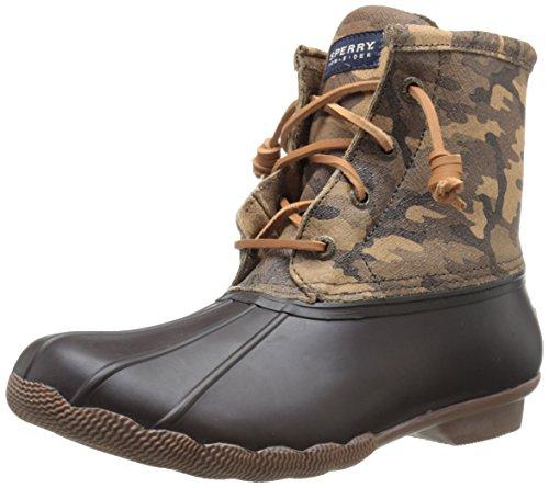 Saltwater Rain/Snow Boot Brown Camo