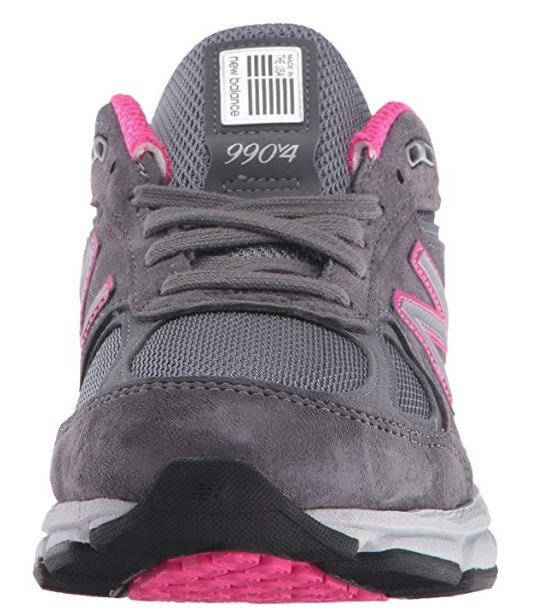 online store e7a21 03447 Details about DISPLAY MODEL W990GP4 New Balance Women Running Shoe  Grey/Pink 12 D Free S/H