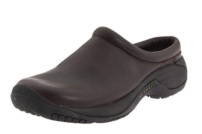 Shoe Clog Smooth Bug Brown Size 7.5